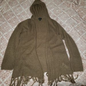 8bbe08ed7ef7d Women s Hooded Cable Knit Cardigan on Poshmark